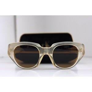 Donna Karan Translucent Cat Eye Sunglasses